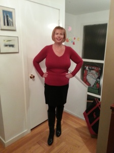New Year's Eve 2013!  Losing 83.5 pounds in 2013 was exciting and I can't wait to see the changes I make in 2014!
