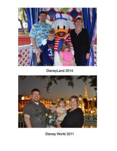 Comparing photos really helps me see my weight loss!  I love that my babies are growing, but my hubby and I are shrinking!