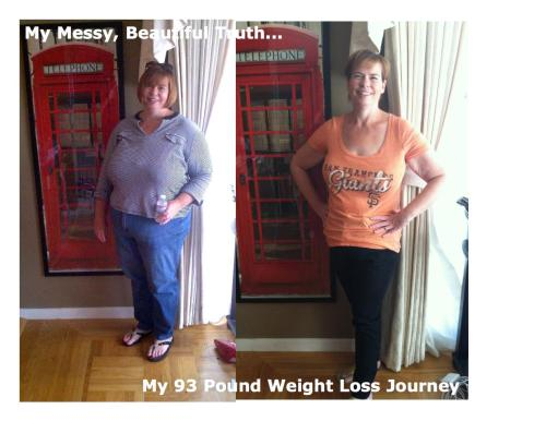 93 pounds gone in Week 44 of my weight loss journey!