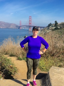 Here I am wearing my new workout clothes while hiking on a different route with a great friend! Changing up my routines is doing wonders for my gastric sleeve journey!