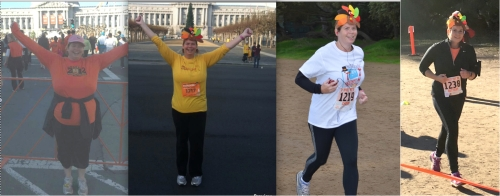 From 2012 to 2015 and from 5K to 5 Miles, the Turkey Trot continues for me! Just like my gastric sleeve journey continues!